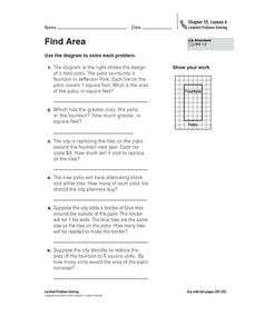 Find Area Worksheet