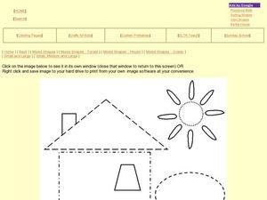 Find the Shapes in a Picture Worksheet