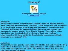 Finding F Lesson Plan