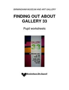 Finding out about Gallery 33 Worksheet