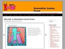 Fine Art to Animation With Keith Haring Lesson Plan