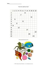 Finish the Addition Table Worksheet