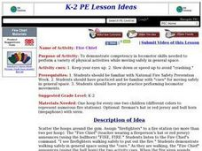Fire Chief Lesson Plan