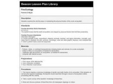 Fire Ecology Lesson Plan