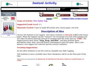 Fire Safety Tag Lesson Plan