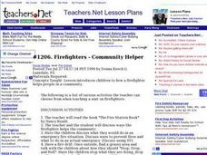 Firefighters: Community Helpers Lesson Plan