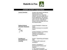 Fireproof Plants Lesson Plan