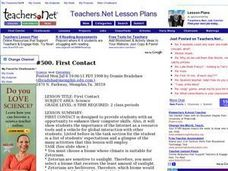 First Contact Lesson Plan