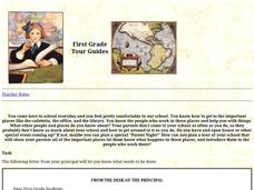 First Grade Tour Guides Lesson Plan