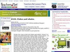 Fishes and Whales Lesson Plan