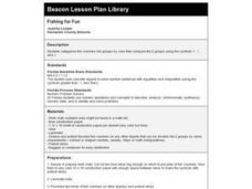 Fishing For Fun Lesson Plan