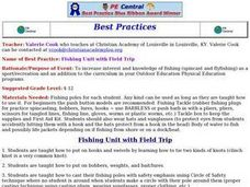Fishing Unit with Field Trip Lesson Plan
