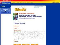 Fishy Fractions Lesson Plan