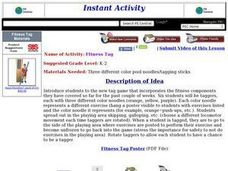 Fitness Tag Lesson Plan