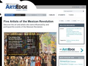Five Artists of the Mexican Revolution Lesson Plan
