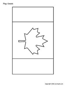 Flag: Canada Worksheet