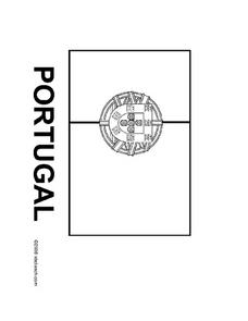 Flag of Portugal Worksheet