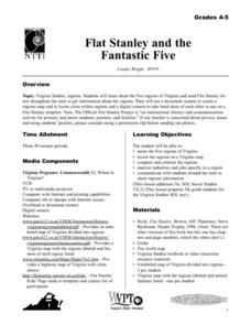 Flat Stanley and the Fantastic Five Lesson Plan