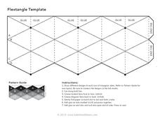 Flextangle Template 2nd - 12th Grade Printables & Template | Lesson ...