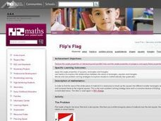 Flip's Flag Lesson Plan