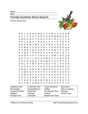 Florida Symbols Lesson Plan