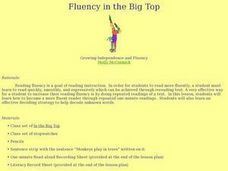 Fluency in the Big Top Lesson Plan