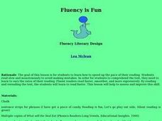 Fluency is Fun Lesson Plan