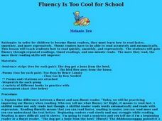 Fluency Is Too Cool for School Lesson Plan