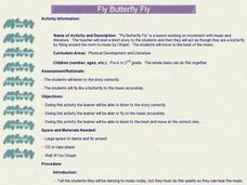 Fly Butterfly Fly Lesson Plan
