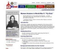 Fly Girls: Women Aviators in World War II Lesson Plan