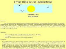 Flying High in Our Imaginations Lesson Plan