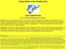 Flying High in the Reading Sky Lesson Plan