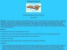Flying To Fluency Lesson Plan