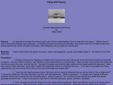 Flying with Fluency Lesson Plan