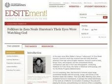 Folklore in Zora Neale Hurston's Their Eyes Were Watching God Lesson Plan