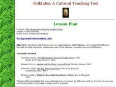 Folktales: A Cultural Teaching Tool Lesson Plan