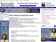 Folktales around the World (Middle, Reading/Writing) Lesson Plan