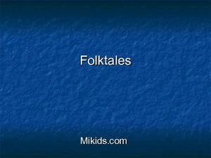 FOLKTALES Lesson Plan