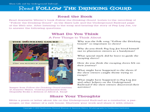 Printables Follow The Drinking Gourd Worksheets follow the drinking gourd lesson plans worksheets gourd