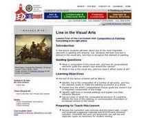 Follow the Leader: Line in the Visual Arts Lesson Plan