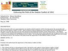 Following the Path of the Dakota Conflict of 1862 Lesson Plan