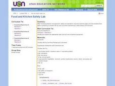 Food and Kitchen Safety Lab Lesson Plan