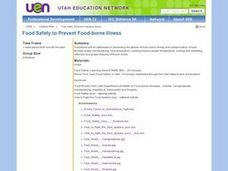Food Safety to Prevent Food-Borne Illness Lesson Plan