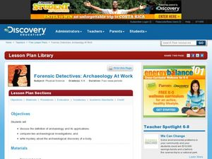 Forensic Detectives: Archaeology at Work Lesson Plan