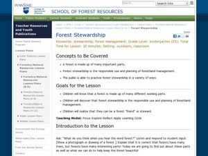 Forest Stewardship Lesson Plan