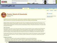 Forests, Deserts, & Grasslands Lesson Plan