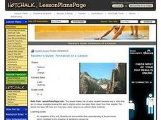 Formation of a Canyon Lesson Plan