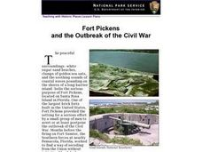 Fort Pickens and the Outbreak of the Civil War (38) Lesson Plan