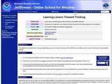 Forward Thinking Lesson Plan