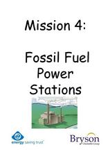 Fossil Fuel Power Stations Worksheet